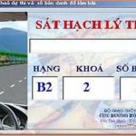 Phí học lấy bằng lái xe B2