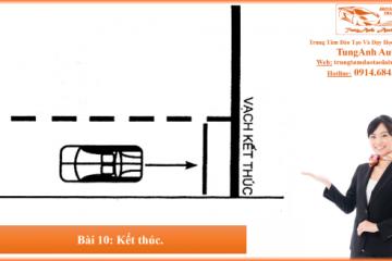 Bài thi sát hạch thực hành lái xe số 10