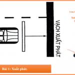 Bài thi sát hạch thực hành lái xe số 1